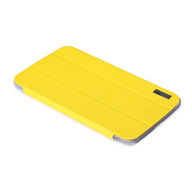 Чехол-книжка для Samsung Galaxy Tab 3 T3100 - ROCK New Elegant series желтый