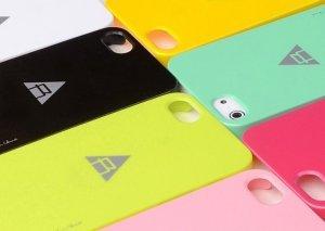 Пластиковый чехол ROCK New Naked черный для iPhone 5/5S/SE