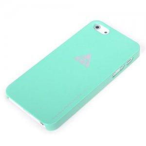 Пластиковый чехол ROCK New Naked зеленый для iPhone 5/5S/SE