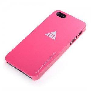 Пластиковый чехол ROCK New Naked розовый для iPhone 5/5S/SE