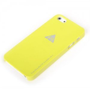 Чехол-накладка для Apple iPhone 5/5S - ROCK New Naked желтый