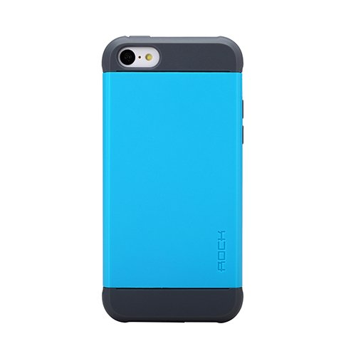 Чехол-накладка для Apple iPhone 5C - ROCK Shield синий