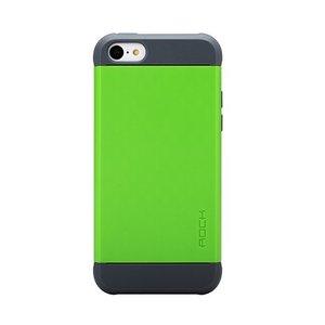 Пластиковый чехол ROCK Shield зеленый для iPhone 5C