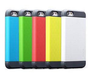Пластиковый чехол ROCK Shield белый для iPhone 5C