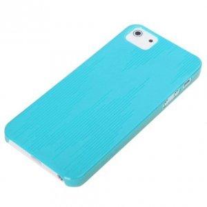 Пластиковый чехол ROCK Texture голубой для iPhone 5/5S/SE