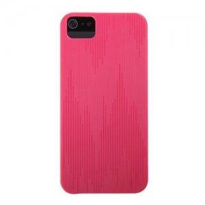 Пластиковый чехол ROCK Texture розовый для iPhone 5/5S/SE