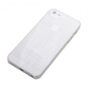 Пластиковый чехол ROCK Texture прозрачный для iPhone 5/5S/SE