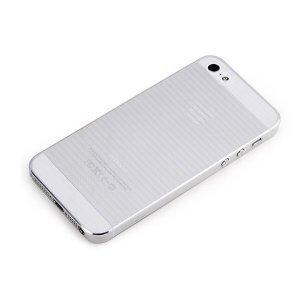 Чехол-накладка для Apple iPhone 5/5S - ROCK Texture прозрачный