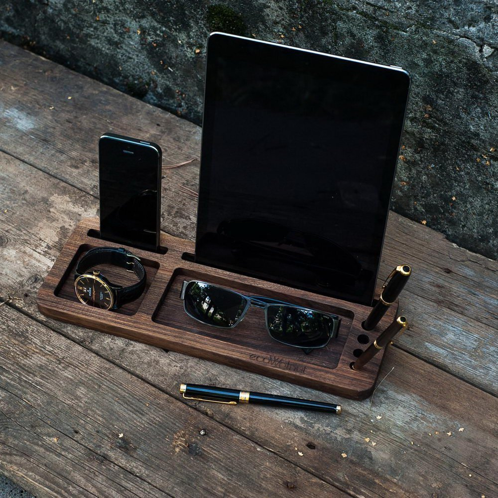 Подставка для iPad, iPhone - EcoWalNut Tab&Phone