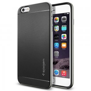 Чехол-накладка для Apple iPhone 6 Plus - Spigen Case Neo Hybrid серебристый