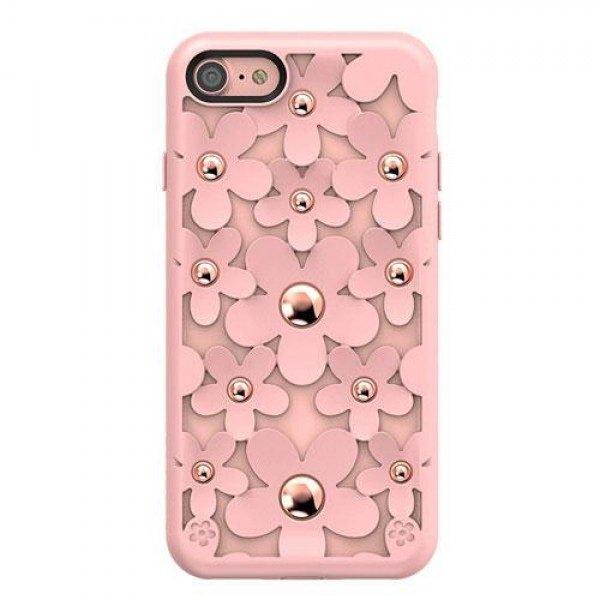 3D чехол SwitchEasy Fleur розовый для iPhone 8/7