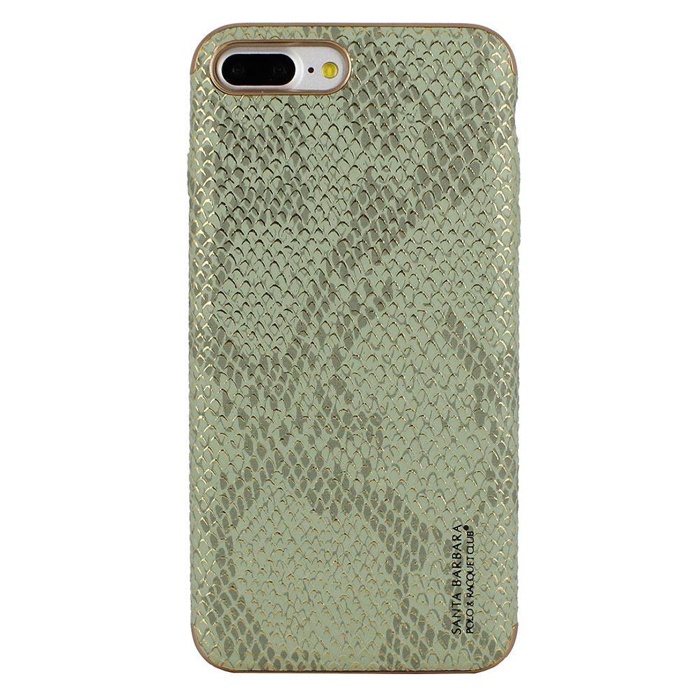 Кожаный чехол Polo Viper Cobra зеленый для iPhone 8 Plus/7 Plus