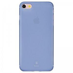 Полупрозрачный чехол Baseus Slim синий для iPhone 8/7/SE 2020