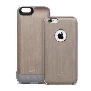 Чехол-аккумулятор для Apple iPhone 6/6S - Moshi iGlaze Ion серый