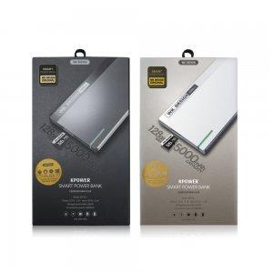 Внешний аккумулятор с Micro-SD картой WK Kpower 5000mAh черный