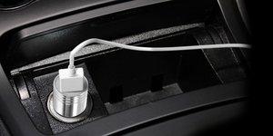 Автомобильное зарядное устройство универсальное iBacks Thunderer Smart серебристое