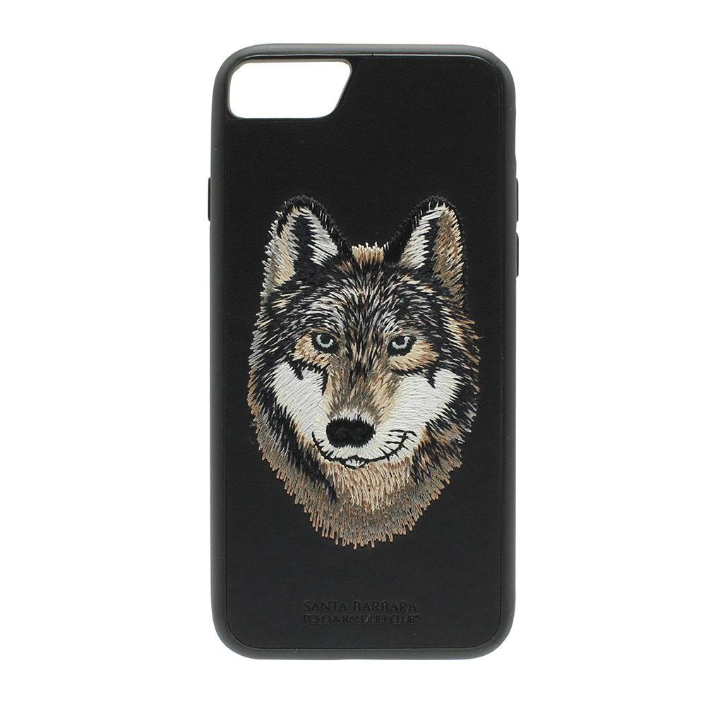 Кожаный чехол Polo Savanna lberian чёрный для iPhone 8/7/6/6S/SE 2020