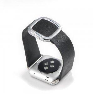 Ремешок для Apple Watch 42mm - Coteetci W5 Nobleman черный