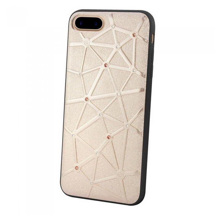 Чехол со стразами Coteetci Star золотой для iPhone 8 Plus/7 Plus