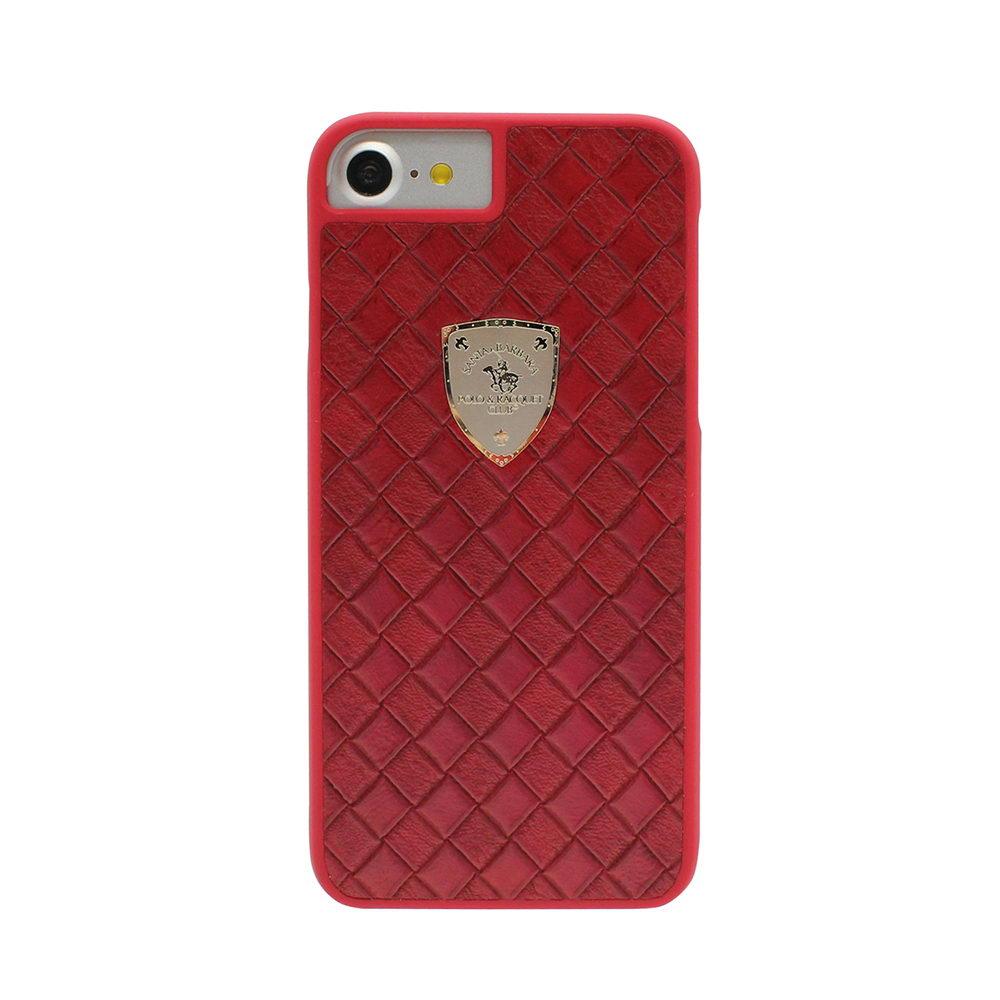 Кожаный чехол Polo Fyrste красный для iPhone 8/7/SE 2020