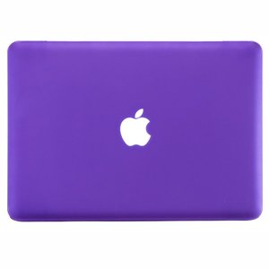 "Чехол-накладка для Apple MacBook Pro 13"" - Kuzy Rubberized Hard Case фиолетовый"