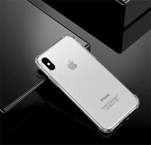 Силиконовый чехол WK Leclear прозрачный для iPhone XS Max