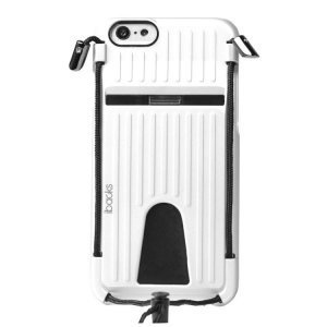 Чехол-накладка для Apple iPhone 6/6S - iBacks Travelling белый