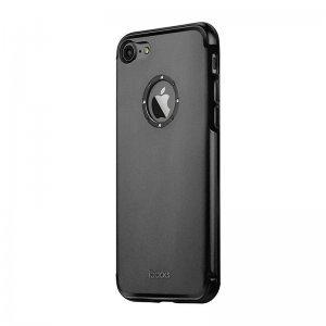 Чехол со стразами iBacks Diamond Cartier чёрный для iPhone 7 Plus