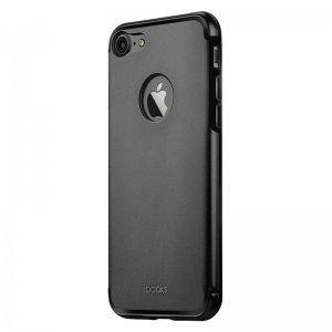 Защитный чехол iBacks Essence Aluminum чёрный для iPhone 7 Plus