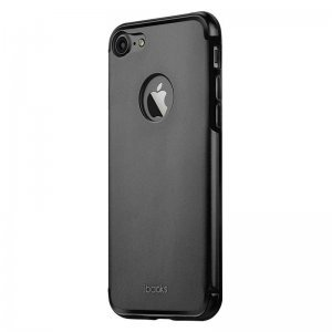 Защитный чехол iBacks Essence Aluminum чёрный для iPhone 8 Plus/7 Plus