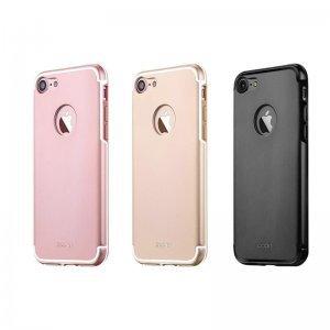 Защитный чехол iBacks Essence Aluminum розовое золото для iPhone 8/7