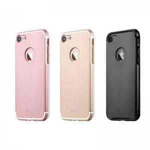 Защитный чехол iBacks Essence Aluminum золотой для iPhone 8/7