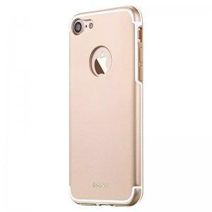 Защитный чехол iBacks Essence Aluminum золотой для iPhone 7 Plus