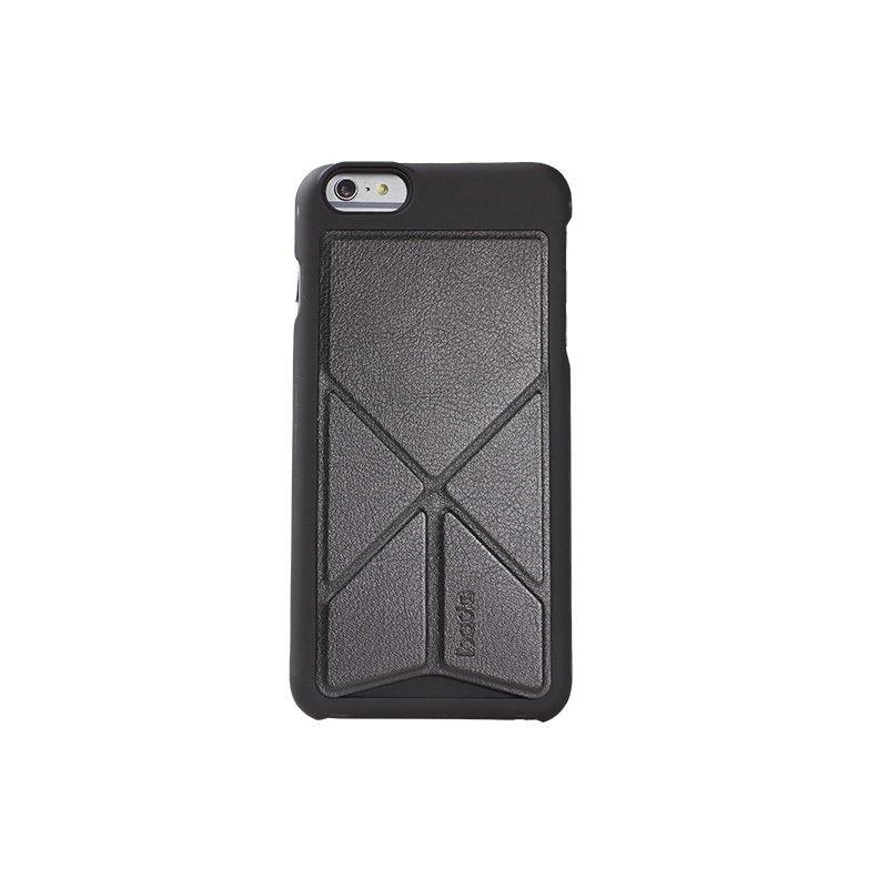 Чехол-накладка для Apple iPhone 6/6S - iBacks Windmill черный + серый