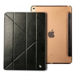 """Чехол-книжка для iPad Pro 12.9"""" - Jisoncase Folio черный"""