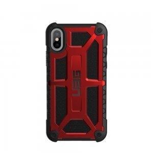Чехол-накладка Urban Armor Gear Monarch красный для iPhone X/XS