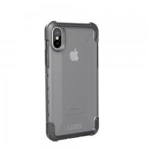 Чехол-накладка Urban Armor Gear Plyo серый прозрачный для iPhone X/XS