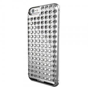 Чехол-накладка для Apple iPhone 6/6S - Lucien Elements Chrome серебристый (уценка)