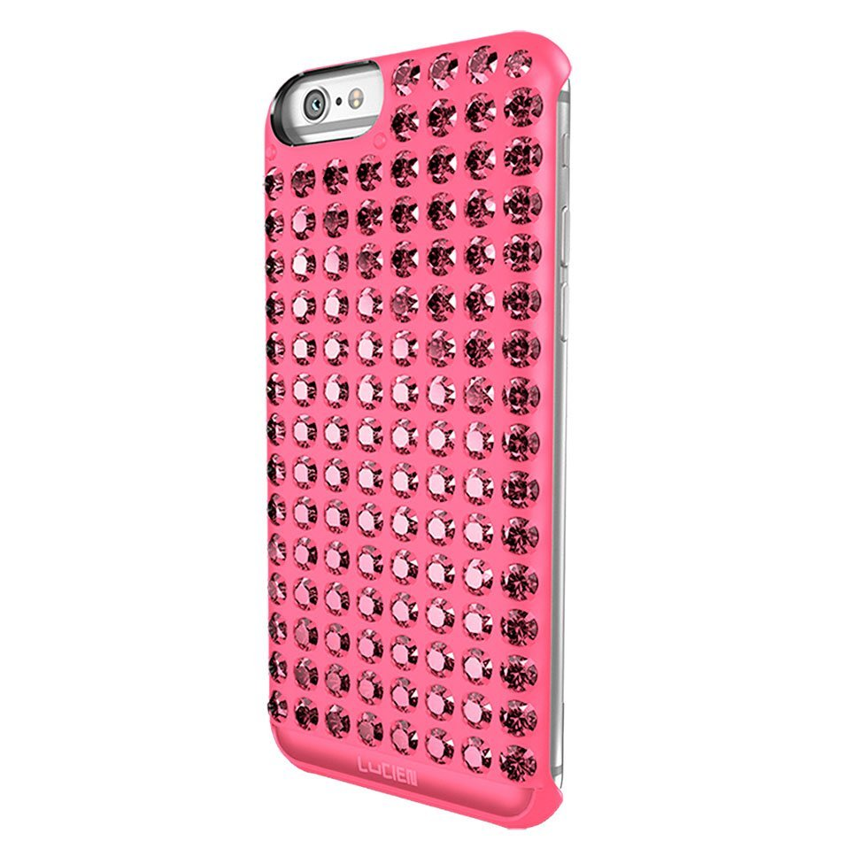 Чехол-накладка для Apple iPhone 6/6S - Lucien Elements Chrome розовый (уценка)