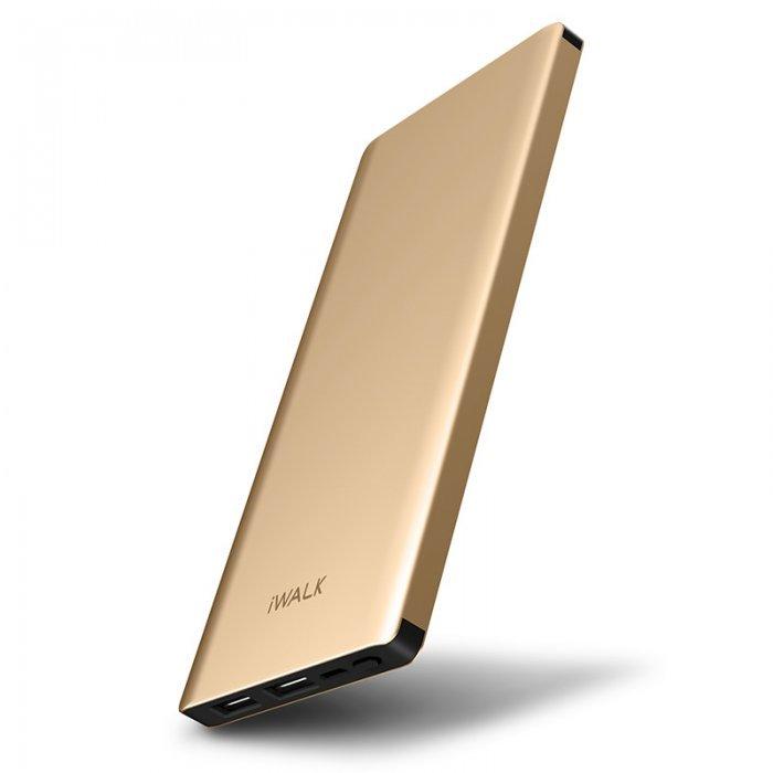 Внешний аккумулятор iWalk Chic 10000mAh золотой (уценка)
