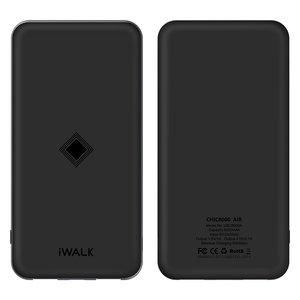 Внешний беспроводной аккумулятор iWalk Chic Air 8000mAh черный (уценка W)