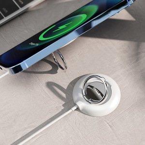 Беспроводное зарядное устройство iWalk Crazy Cable Mag (MCC010) белое