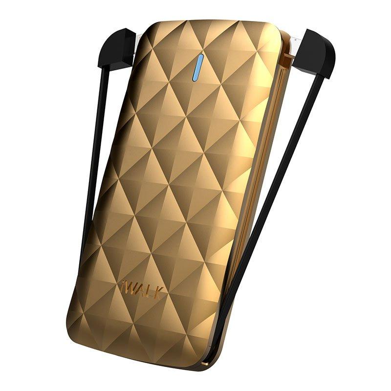 Внешний аккумулятор iWalk Duo 3000mAh золотой
