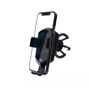 Беспроводное автомобильное зарядное устройство и держатель iWalk Lucanus Air Auto черное