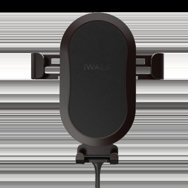 Беспроводное автомобильное зарядное устройство iWalk Lucanus Air черное