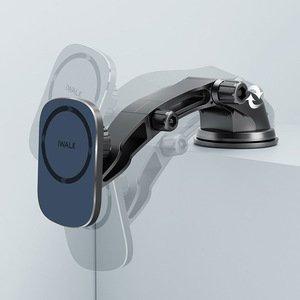 Бездротовий зарядний пристрій і утримувач iWalk Lucanus Air Mag чорний