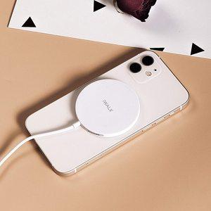 Беспроводное зарядное устройство iWalk Crazy Cable MagLite Wireless Charger 15W (MCC010L-002A) белое