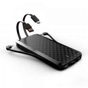 Внешний аккумулятор iWalk Scorpion 12000mAh (UBT12000X) черный