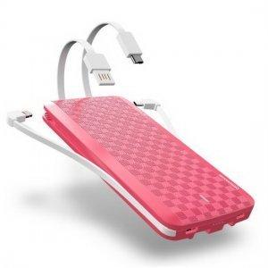 Внешний аккумулятор iWalk Scorpion 12000mAh (UBT12000X) розовый