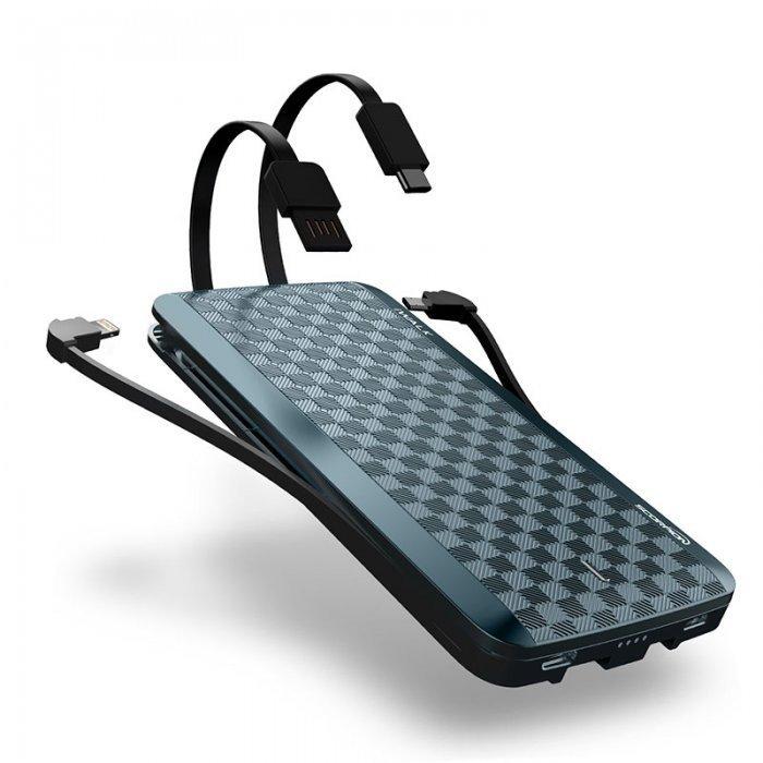 Внешний аккумулятор iWalk Scorpion 12000mAh (UBT12000X) синий
